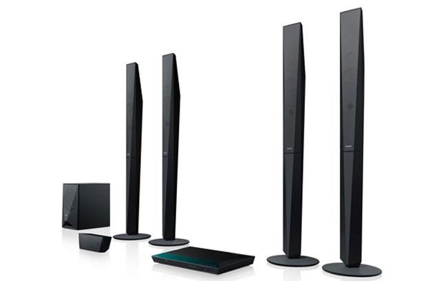 Dàn âm thanh 5.1 Bluray Sony BDV-E6100 màu đen nguyên khối