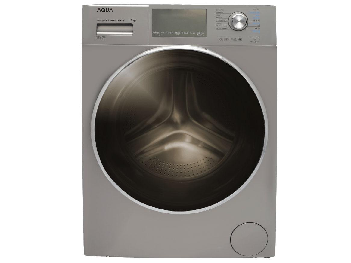 Máy giặt cửa trước AQUA AQD-DD950E.S