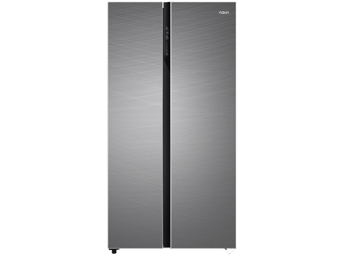 Hình ảnh tủ lạnh Side By Side Aqua AQR-IG696FS(GD)