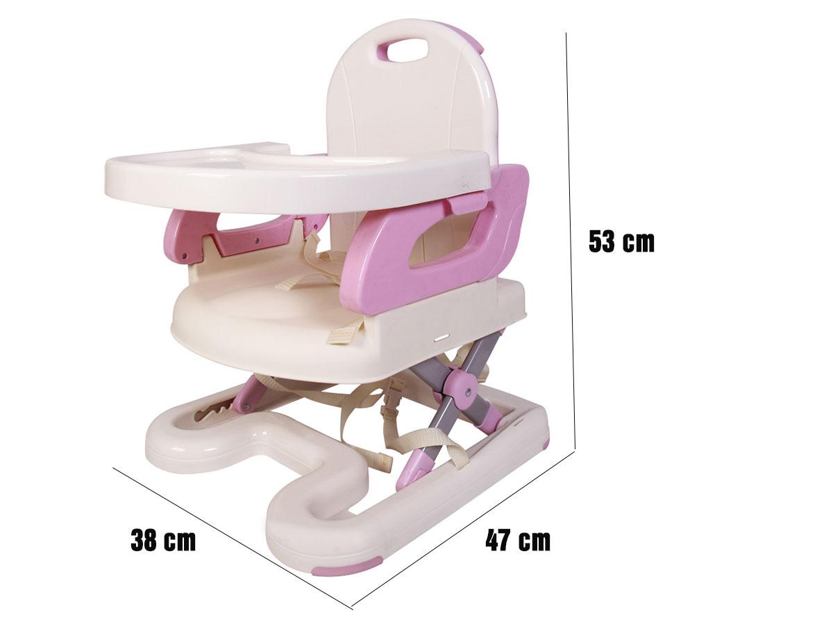 Kích thước ghế ăn Mastela màu hồng 07112