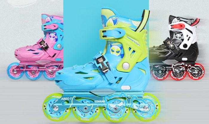 Màu sắc của giầy patin
