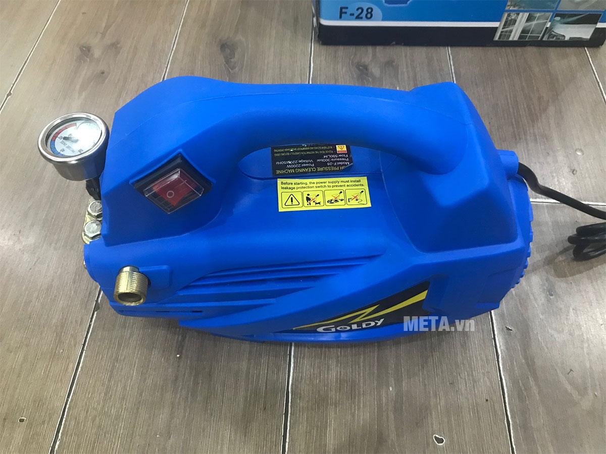 Hình ảnh máy xịt rửa Goldy F28