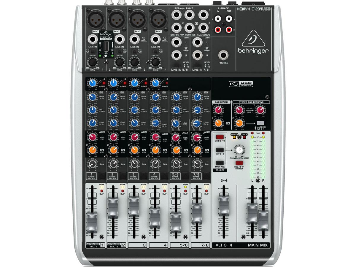 Mixer trộn âm