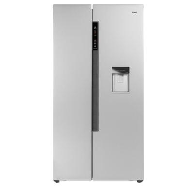 Tủ lạnh màu bạc