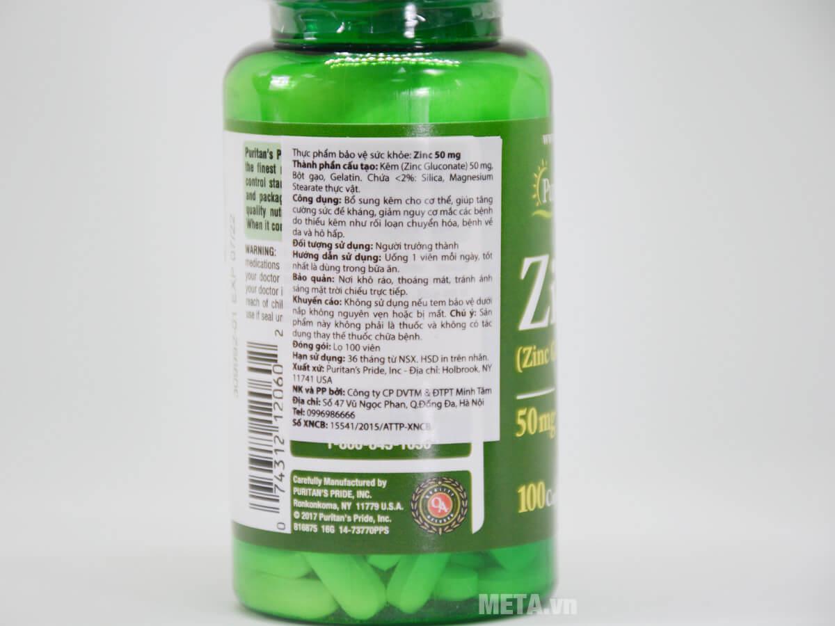 Thực phẩm chức năng ZinC