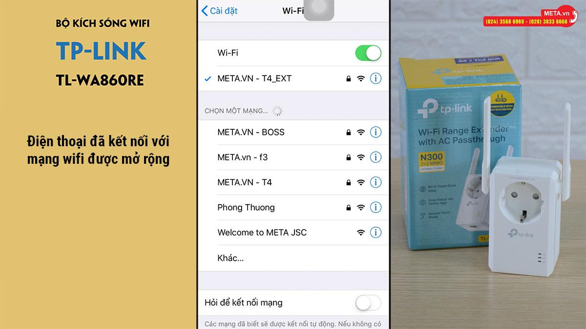 Kích sóng wifi TP-Link