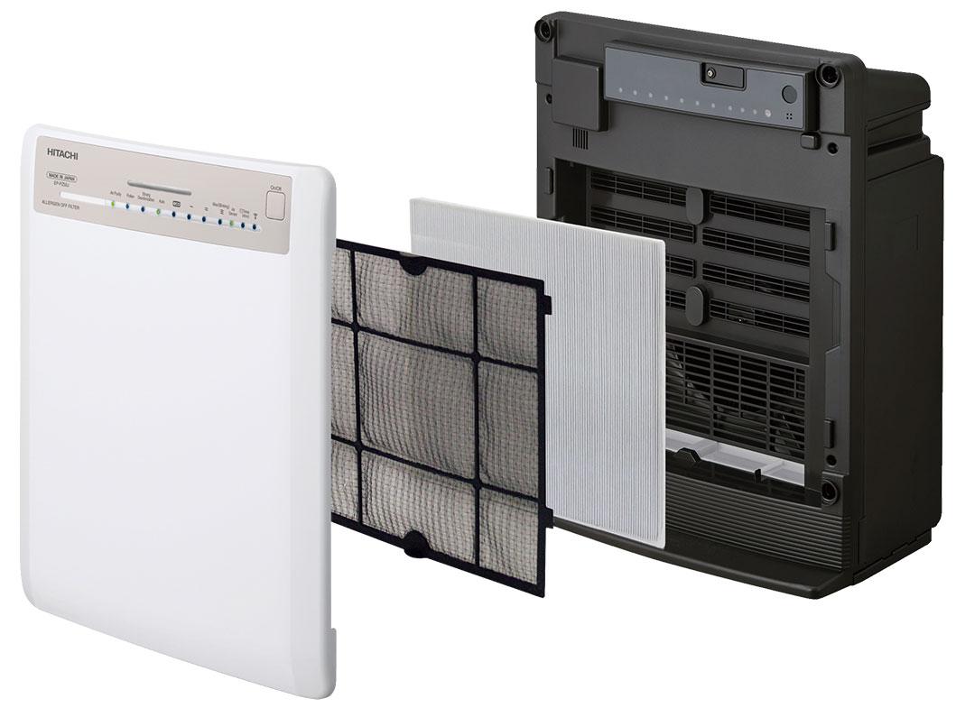 Hệ thống màng lọc của máy lọc không khí Hitachi
