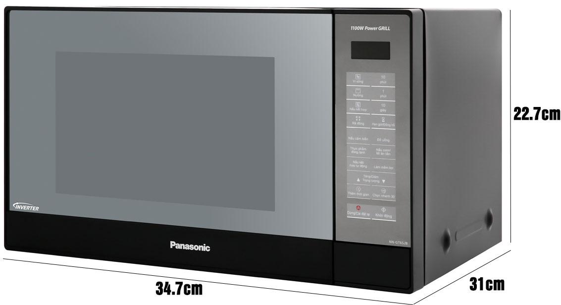 Kích thước lò vi sóng Panasonic NN-GT65JBYUE