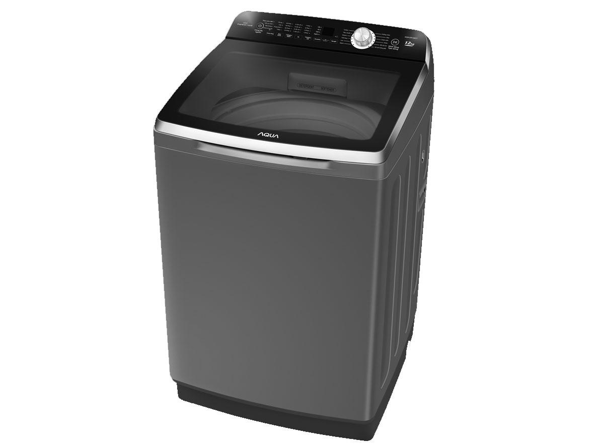 Máy giặt lồng đứng Aqua AQW-DR120CT(S) thiết kế sang trọng
