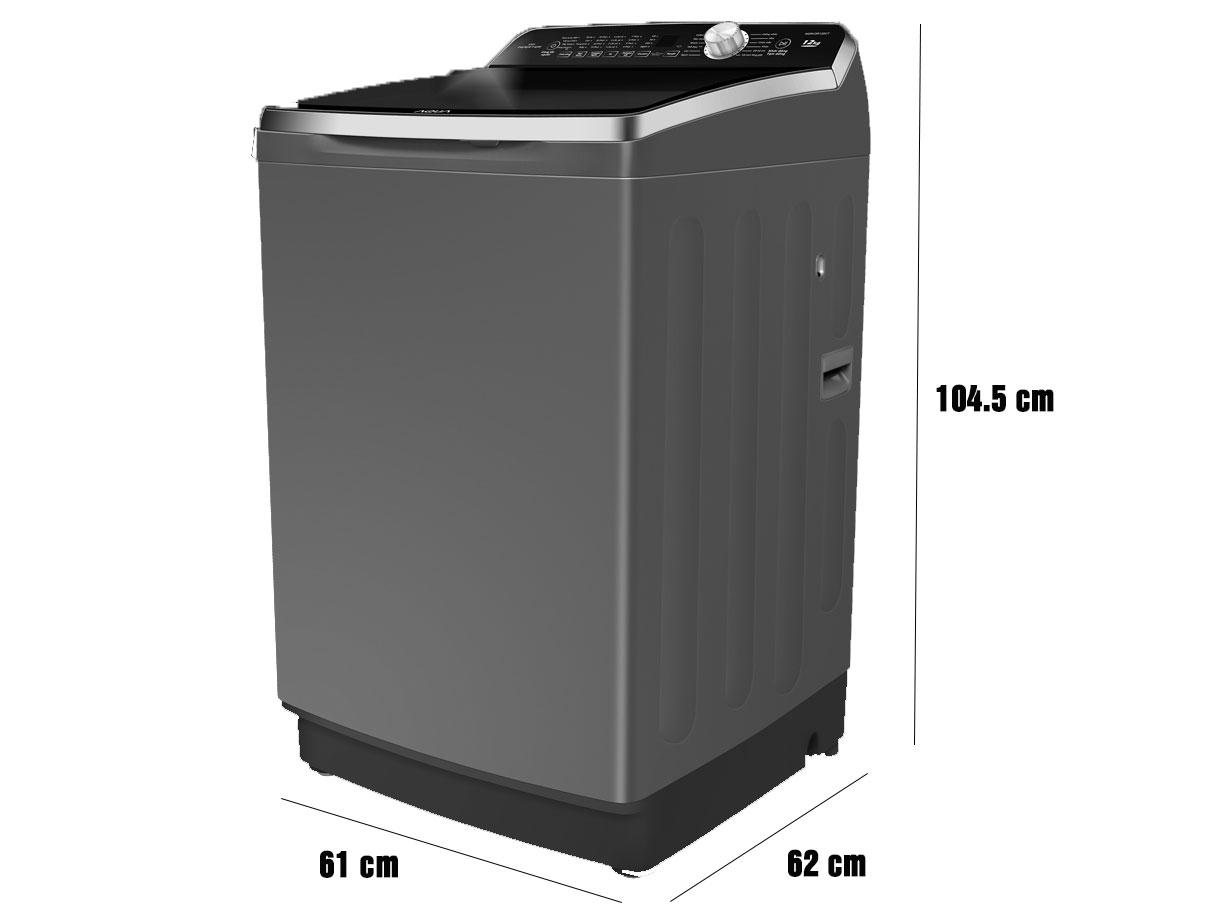 Kích thước máy giặt Aqua AQW-DR120CT(S)