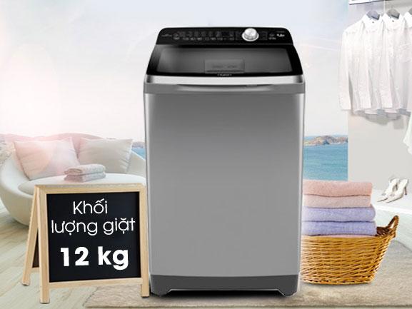 Máy giặt có khối lượng giặt 12kg