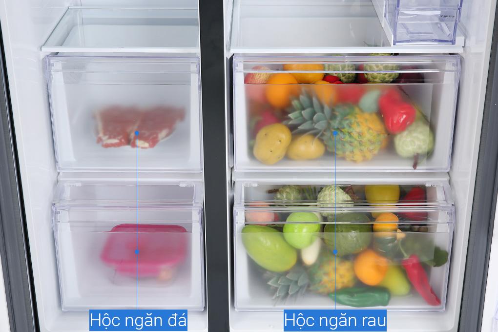 Tủ lạnh Samsung RS64R5301B4/SV