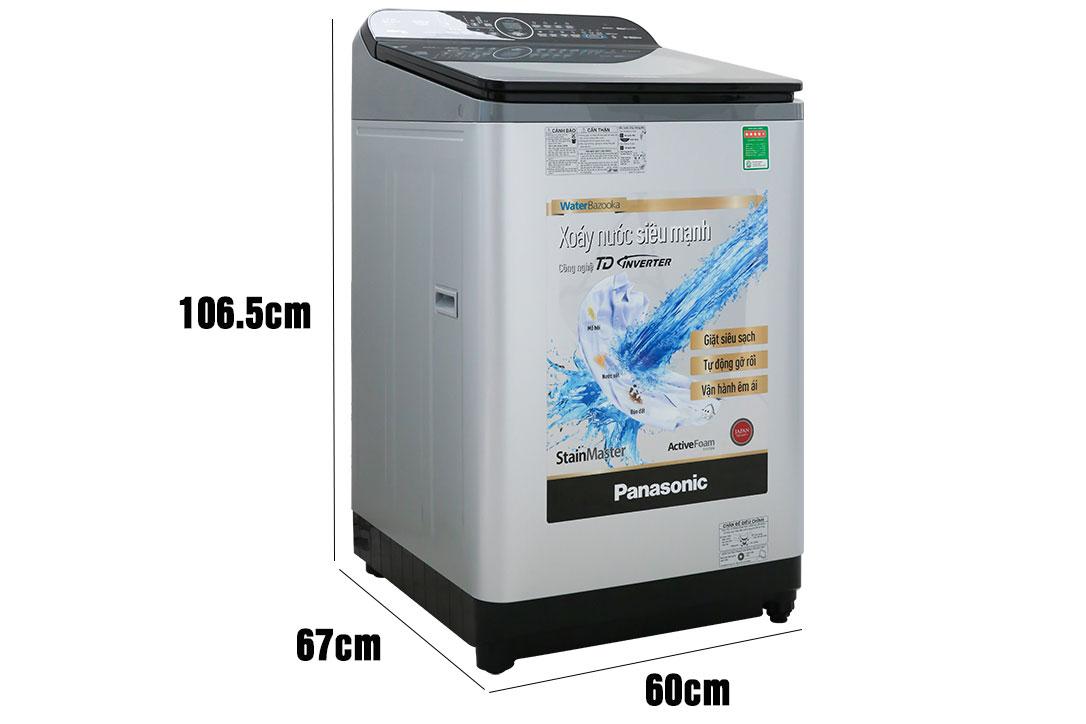 Kích thước máy giặt Panasonic NA-FD12XR1LV