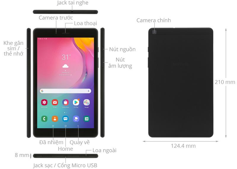 Máy tính bảng Samsung Tab A