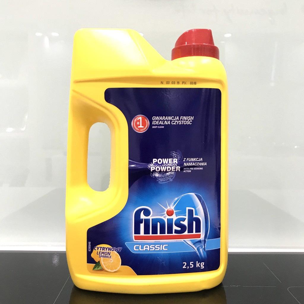 Bột rửa bát Finish Classic