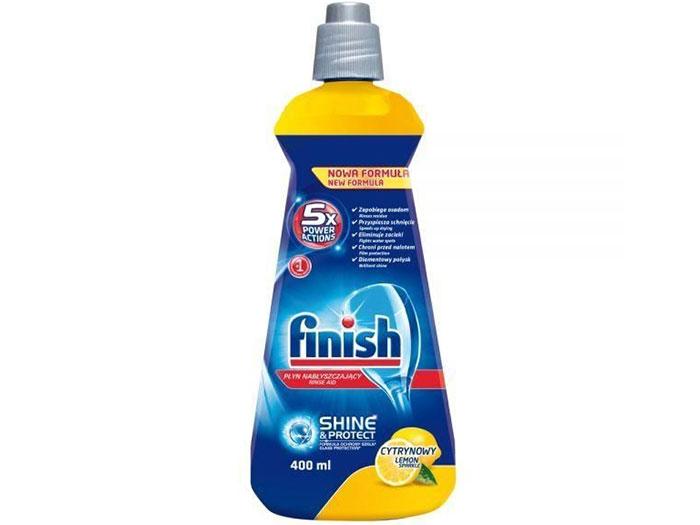 Nước làm bóng Finish (Chai 400ml) hương chanh