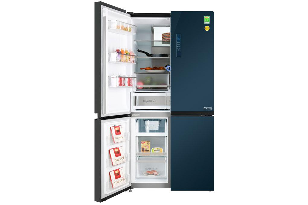 Tủ lạnh thiết kế 4 cánh thông minh