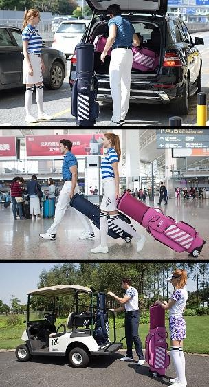 Sử dụng túi golf