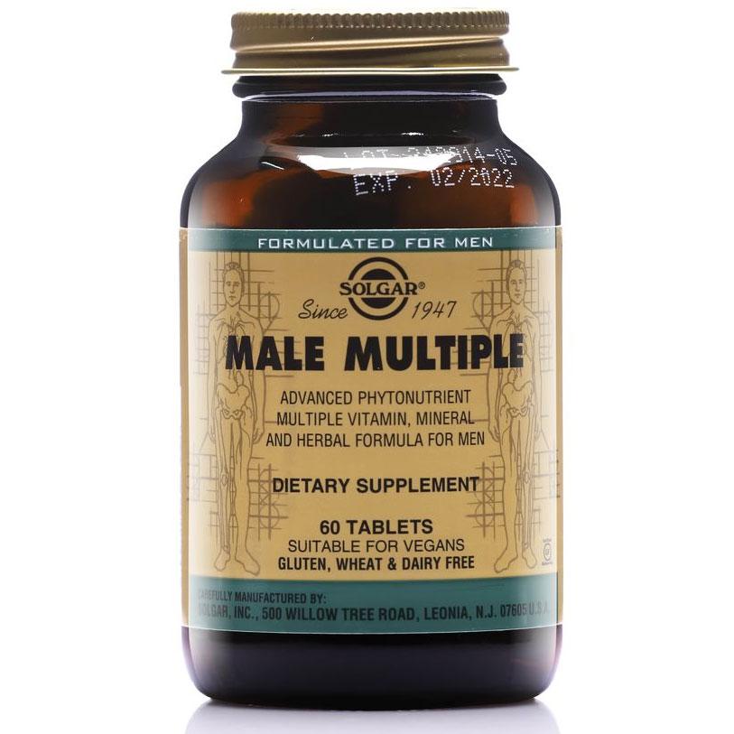 Thực phẩm bảo vệ sức khỏe Male Multiple Solgar