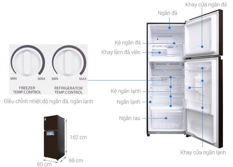 Tủ lạnh Toshiba GR-AG36VUBZ