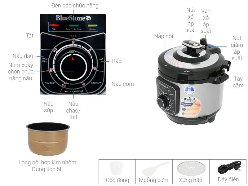 Nồi áp suất Bluestone PCB-5619