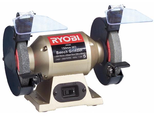 Máy mài hai đá Ryobi HBG-6E