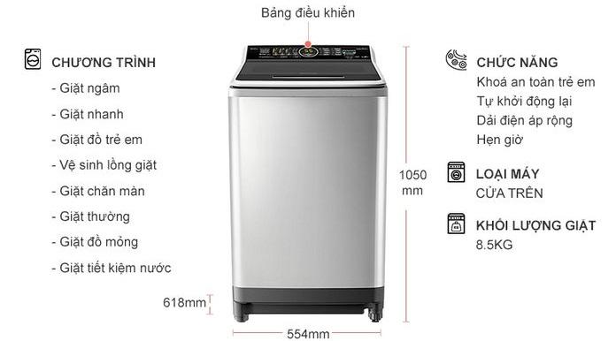 Máy giặt Panasonic NA-FS85X7LRV