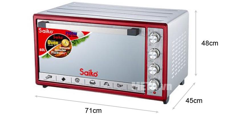 Lò nướng điện Saiko TO-60E