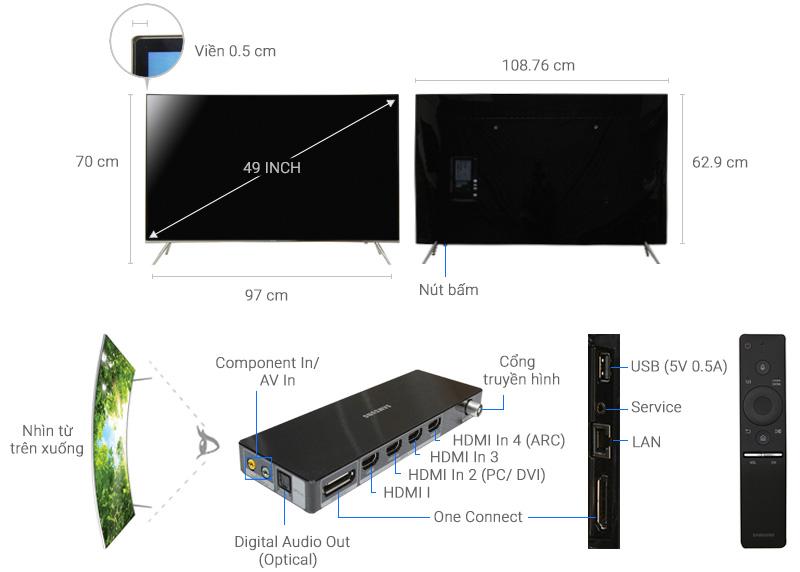 Smart Tivi Samsung UA49KS7500KXXV