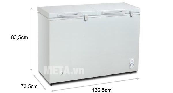 Tủ đông Panasonic SCR MFR400DH2 VN