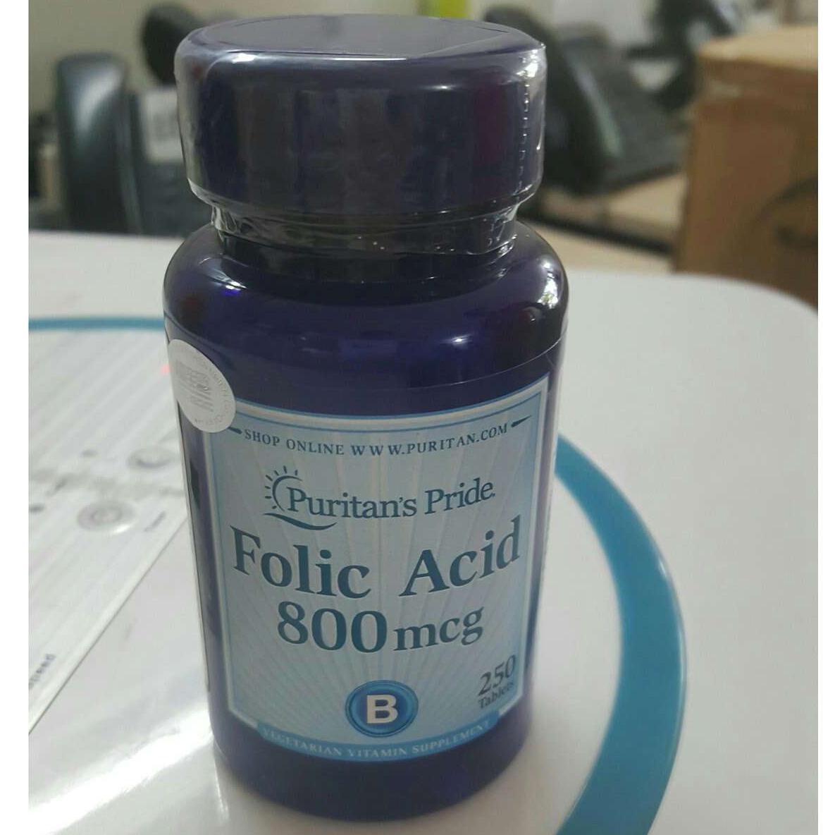 Viên uống bổ sung acid folic cho bà bầu