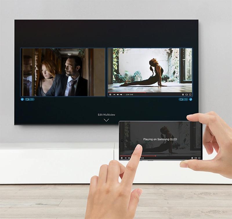 Smart Tivi QLED Samsung 4K 75 inch QA75Q70TAKXXV