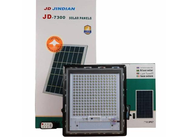 Đèn pha năng lượng mặt trời JinDian JD7300