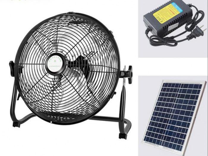 Quạt năng lượng mặt trời