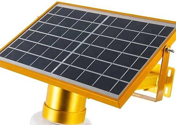 Đèn pha năng lượng mặt trời JinDian JD-9909