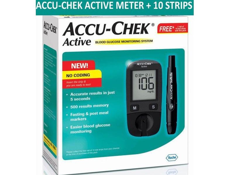 Máy đo đường huyết Accu