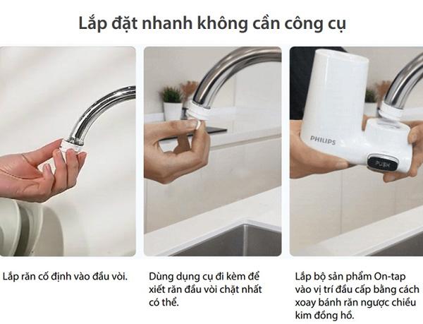 Thiết bị lọc nước Philips