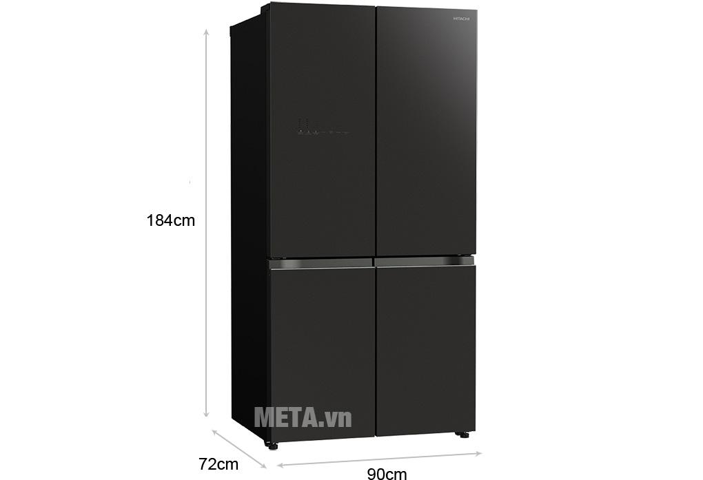 Tủ lạnh Hitachi R-WB640VGV0