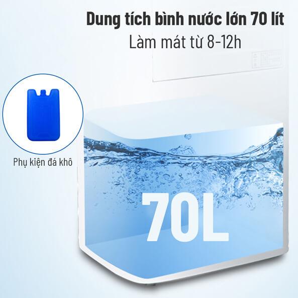 Bình nước lớn dung tích 70 lít