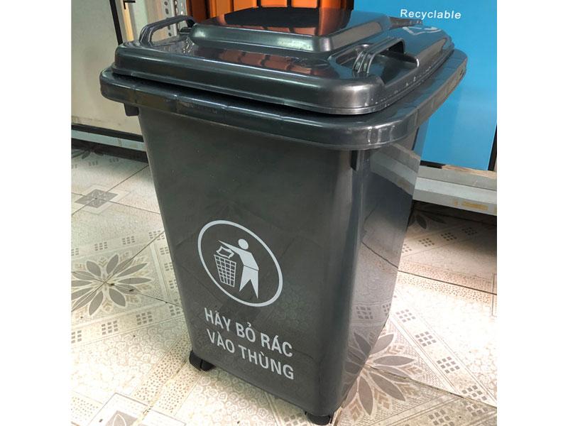 Thùng rác nhựa Ritabins