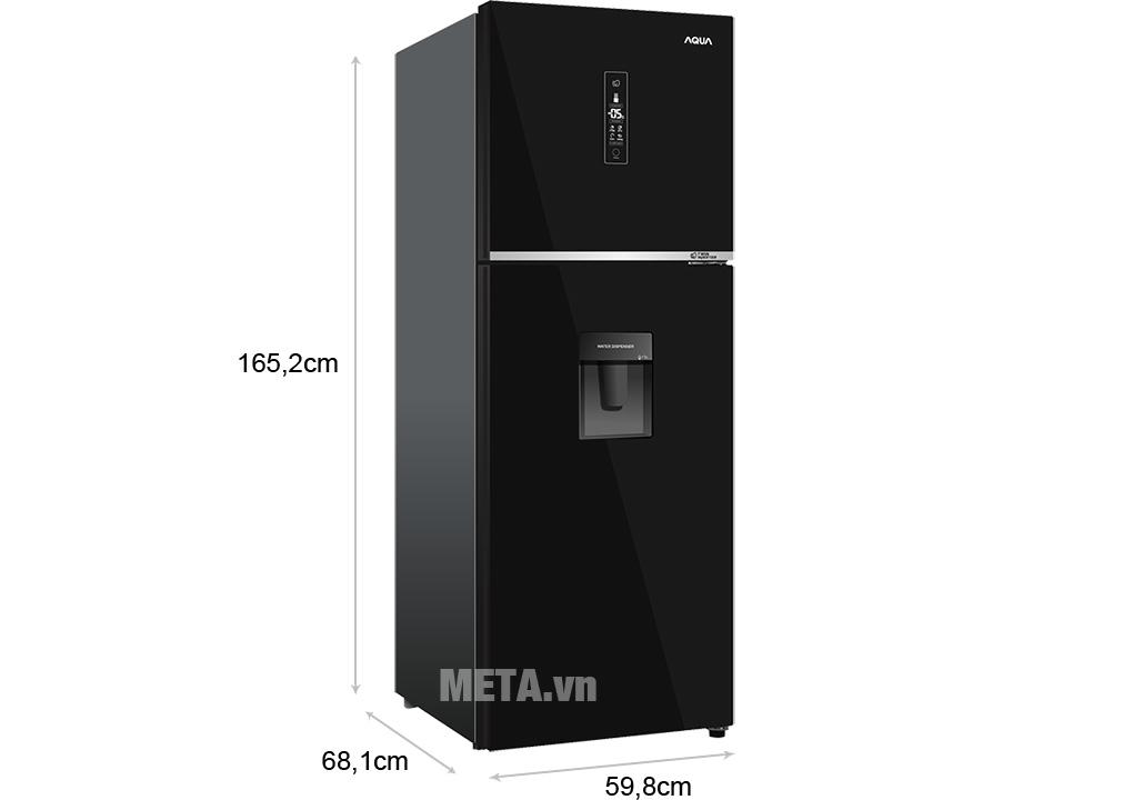 Tủ lạnh Aqua AQR-T369FA