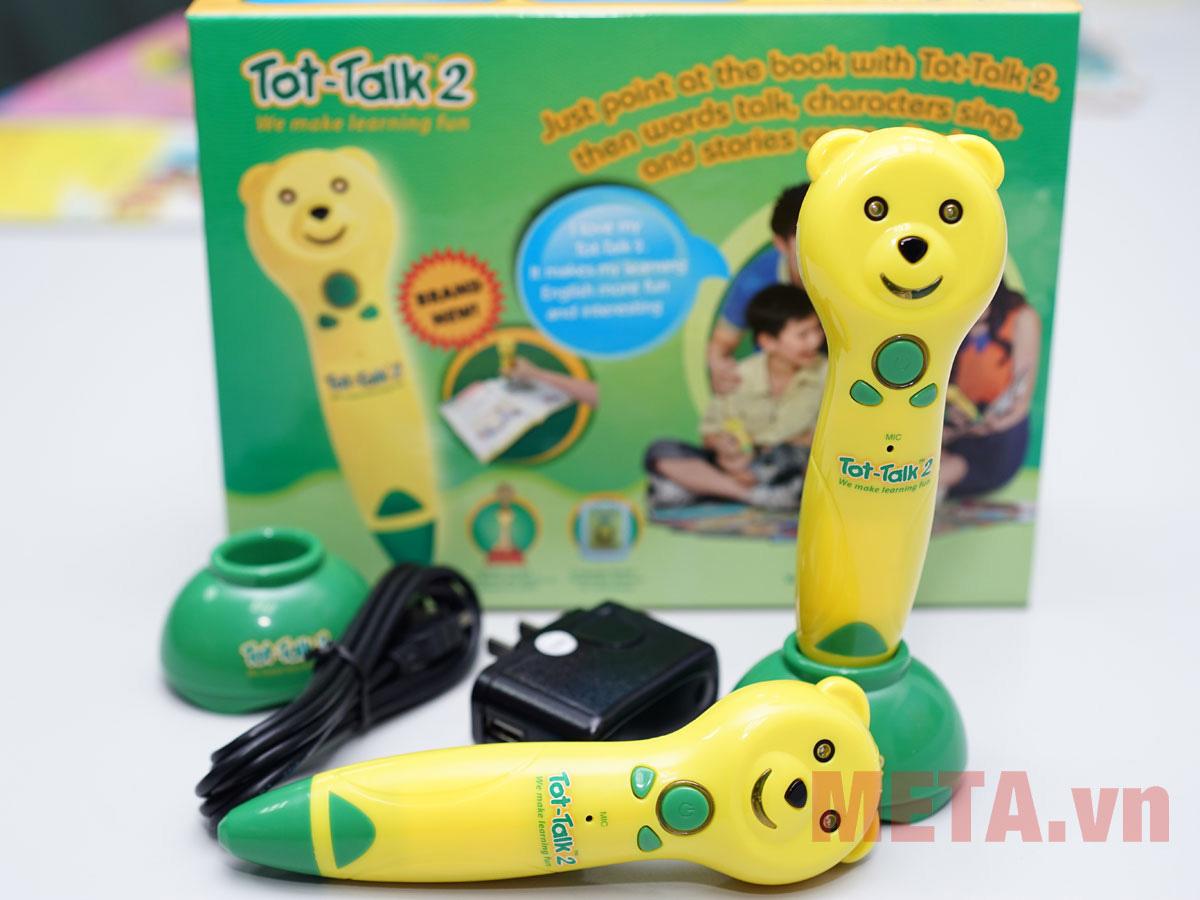 Bút Học tiếng Anh Tot-Talk 2 dành cho bé (1 đến 12 tuổi)