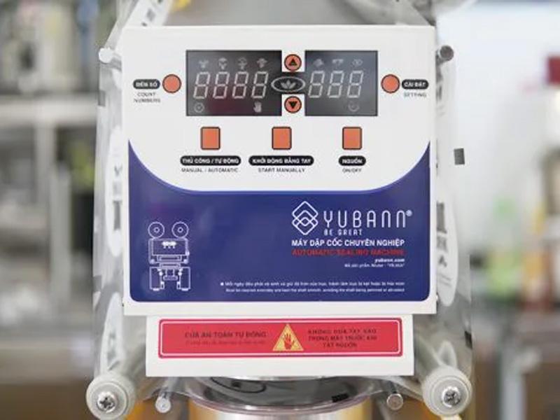 Máy ép miệng ly Yubann YB - 95A