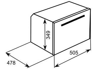 Lò nướng hấp Baumatic BSQ26CBK