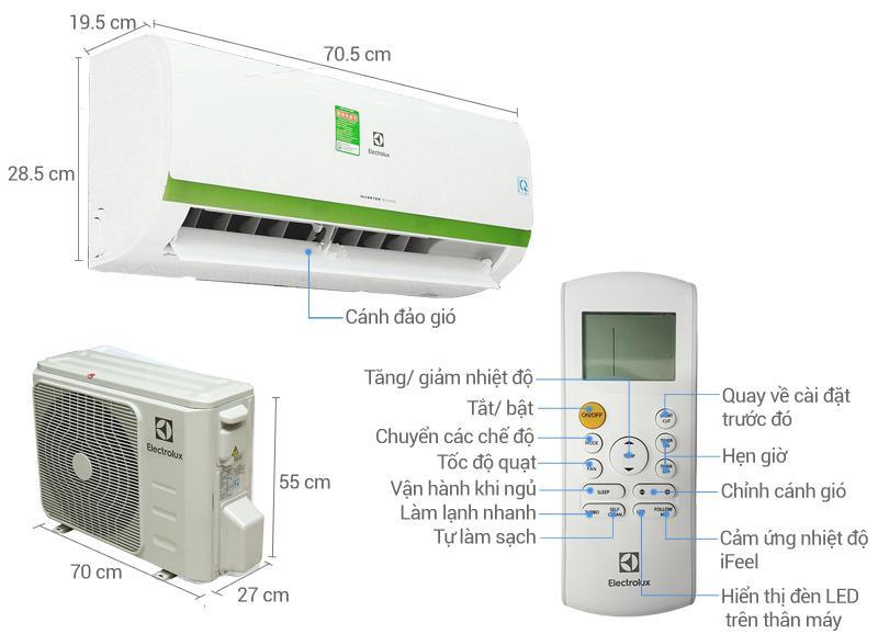 Điều hòa Electrolux ESV09CRR-C7