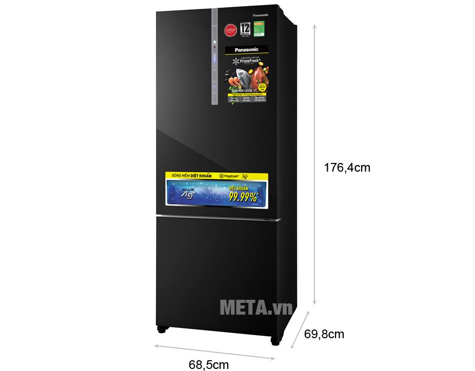 Sửa Tủ lạnh Panasonic Inverter NR-BX460GKVN