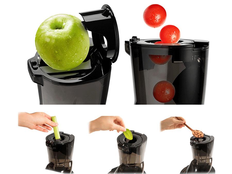 Máy ép trái cây phân tích chỉ số cơ thể