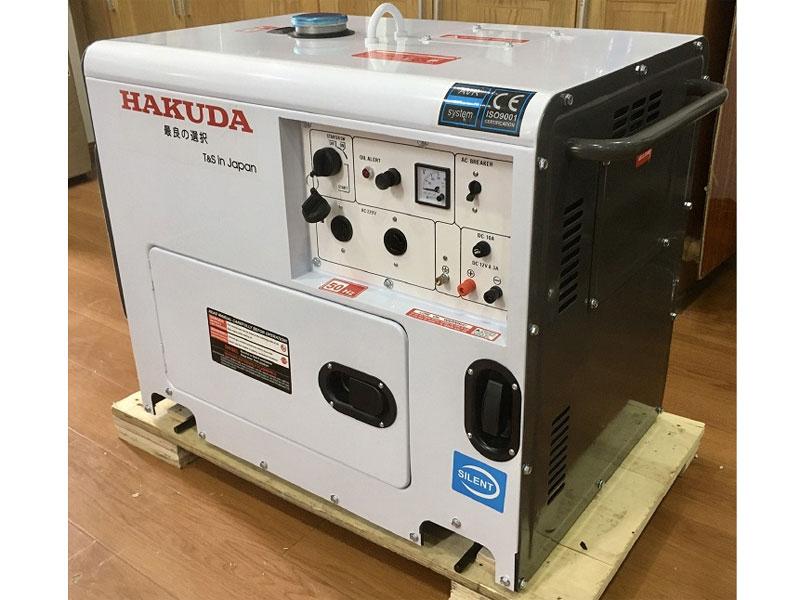 Máy phát điện chạy dầu Hakuda