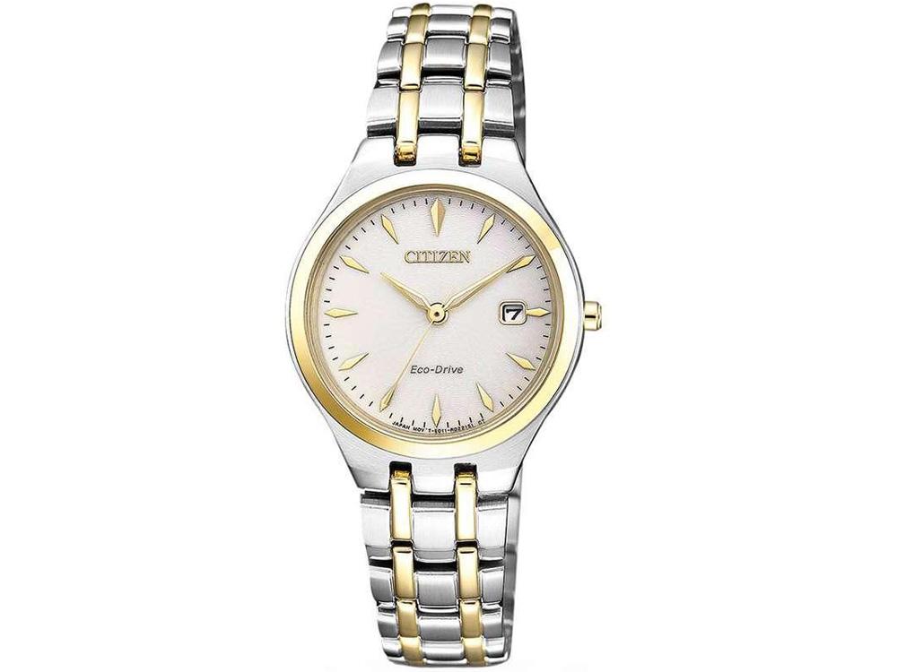 đồng hồ Citizen EW2484-82B nữ Eco-Drive lịch ngày 28mm