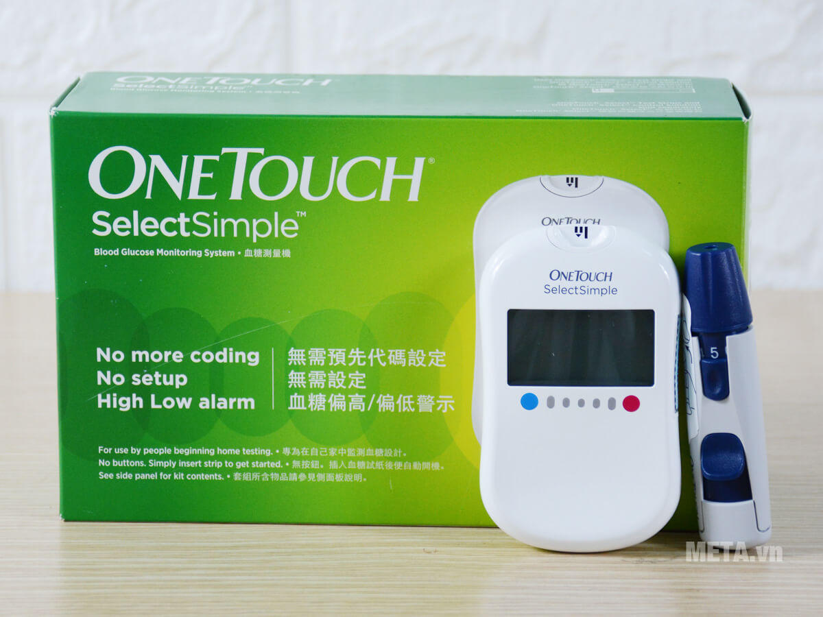Máy đo đường huyết Johnson & Johnson